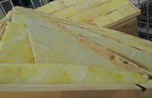 新型窄缝式隔音保温板